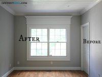 Door and Window Trim Molding with a Decorative Header ...