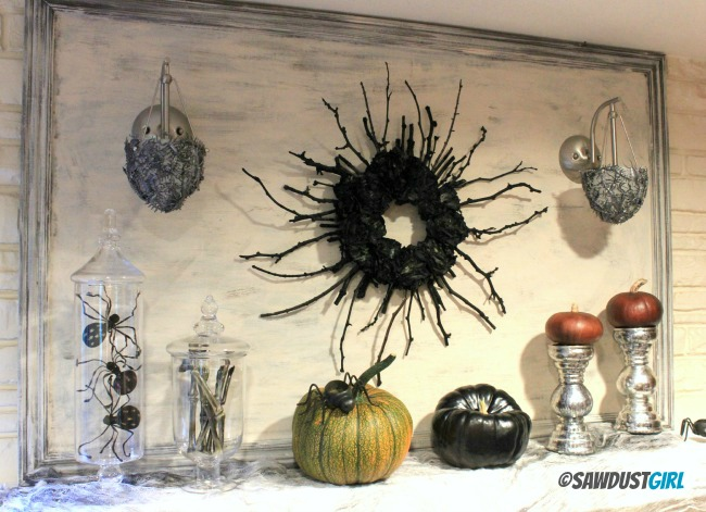 Creepy Halloween Sconce