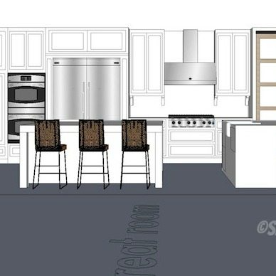 Kitchen Design Plan The Winner Sawdust Girl