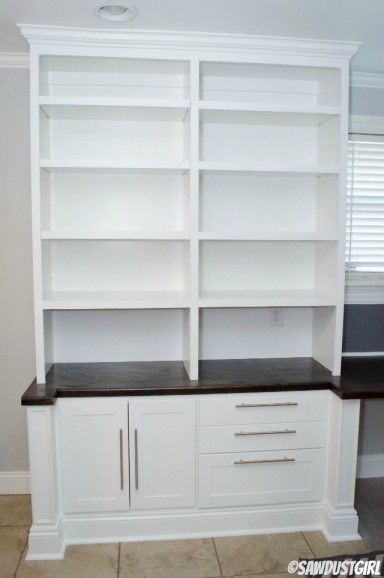 Built-in Office Furniture Plans