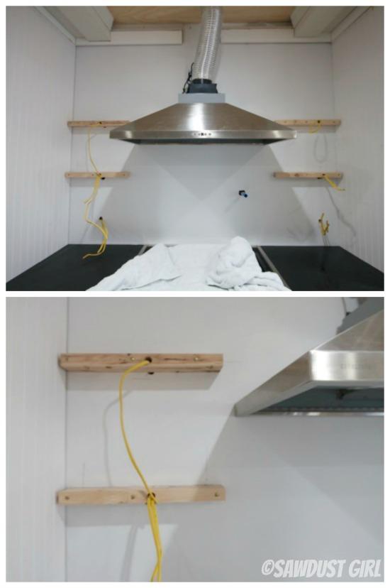how to install floating shelves sawdust girl. Black Bedroom Furniture Sets. Home Design Ideas