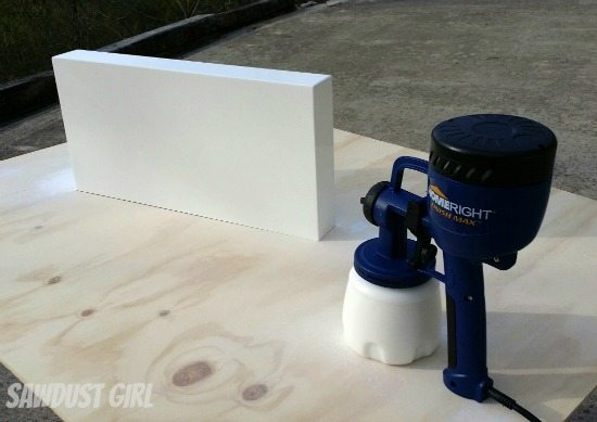 Little paint sprayer that packs a punch