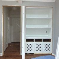 Built-in Bookcase update