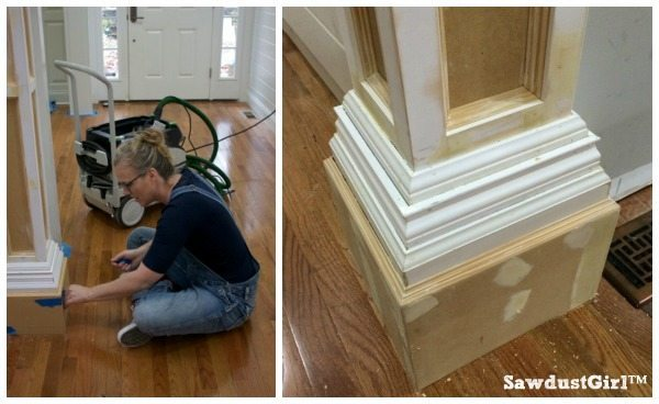 How To Build Decorative Columns Sawdust Girl 174
