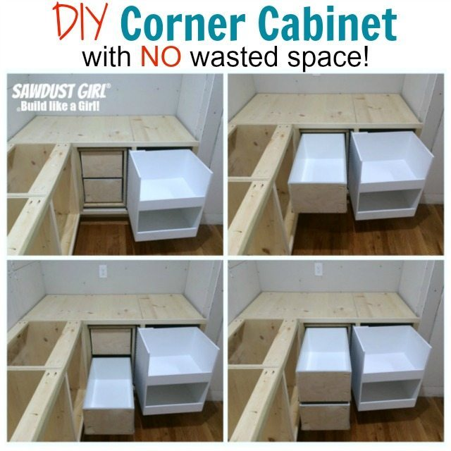 Blind Corner Cabinet With No Wasted Space Sawdust Girl 174