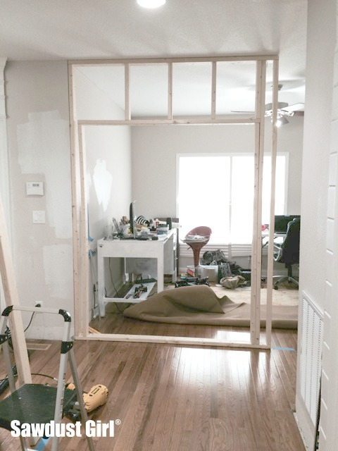 Framing a Pocket Door Wall