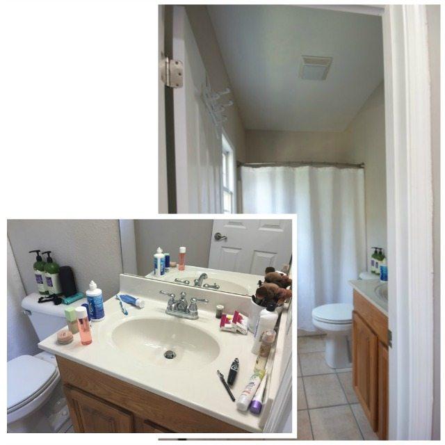 Small bathroom storage solution