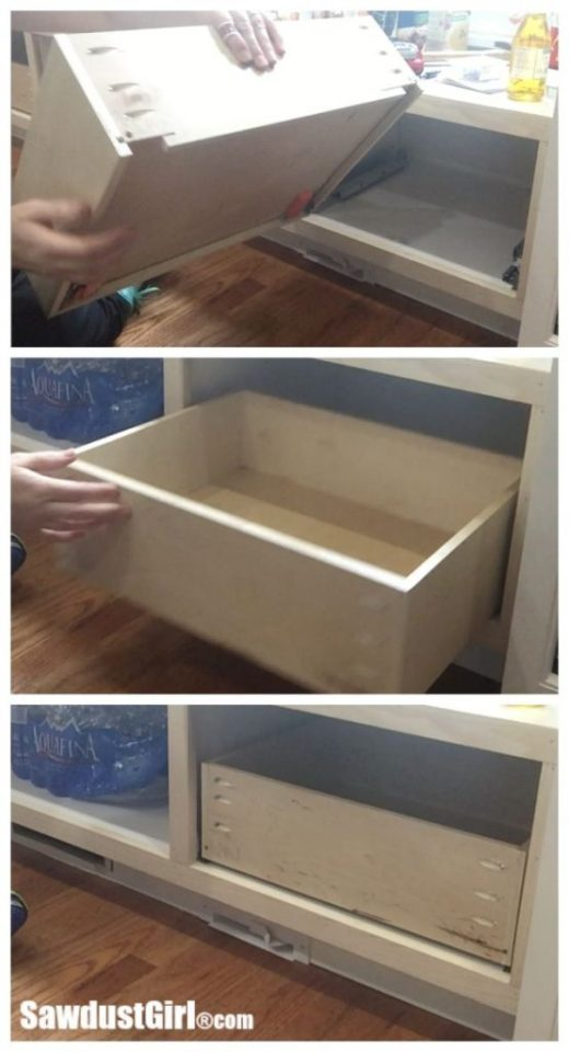 How to Build a Drawer for Blum Tandem plus Blumotion 563 Drawer glides