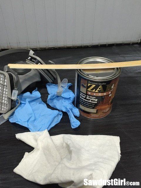 Refinishing a wood countertop