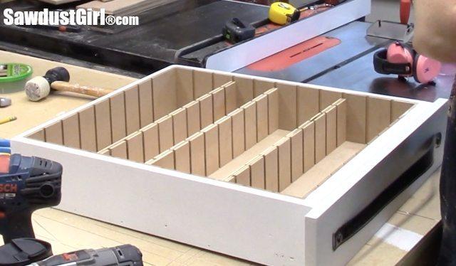 Drawer divider organizer.