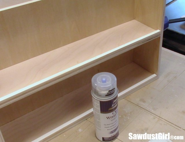 Build organized vertical drawers for the workshop.