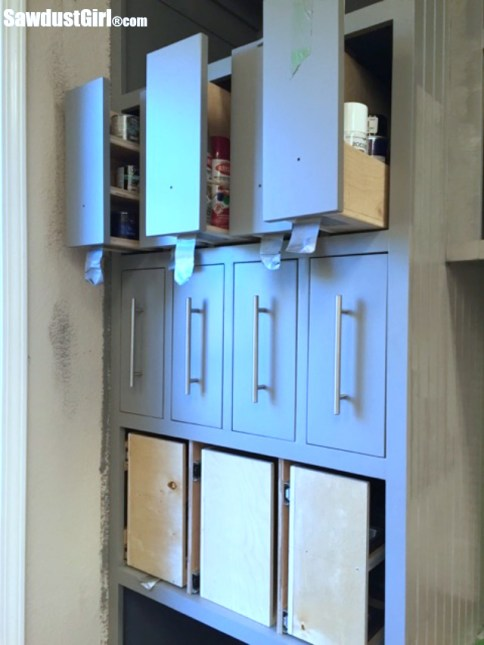 How to Build Vertical Drawers