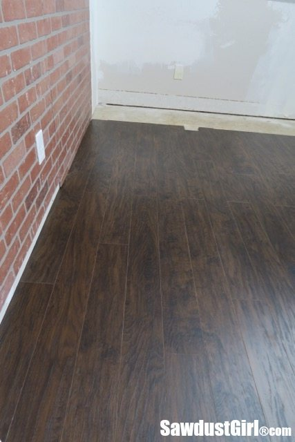 Pergo laminate flooring installation sawdust girl for Recording studio flooring