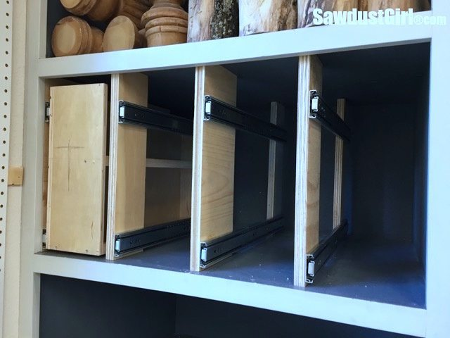 How To Build A Kitchen Pantry Cabinet Add Vertical Storage Drawers To Existing Cabinets