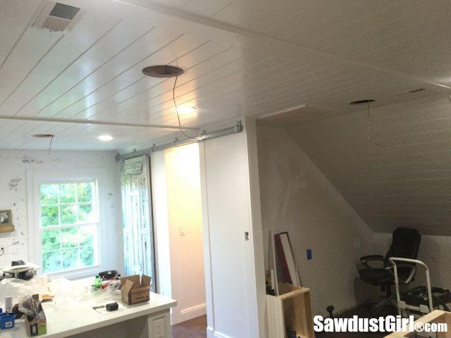 Installing in-ceiling speakers