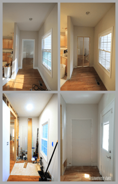 Kitchen Entry Makeover - Demolition