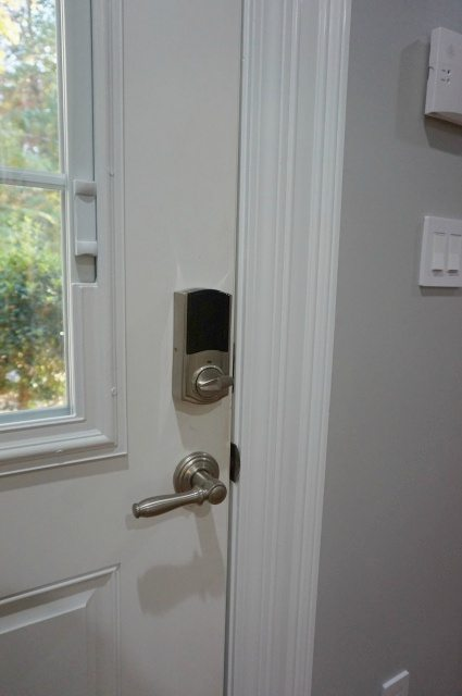 Installing 2 gen Kevo Lock