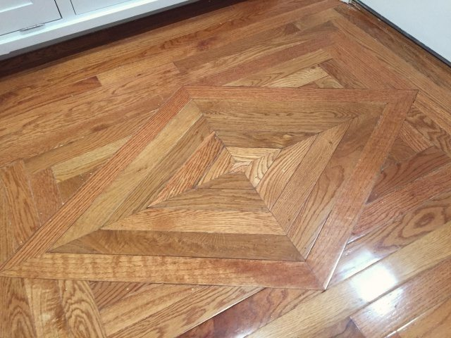 Replacing Wood Floor Decorative Insert