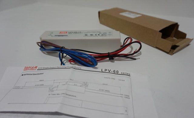 Transformer for under cabinet lights