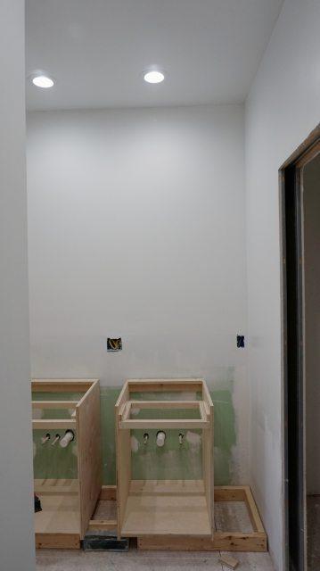 Jack and Jill bathroom update