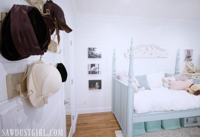Pretty Bedroom Makeover Reveal - Small Bedroom Ideas