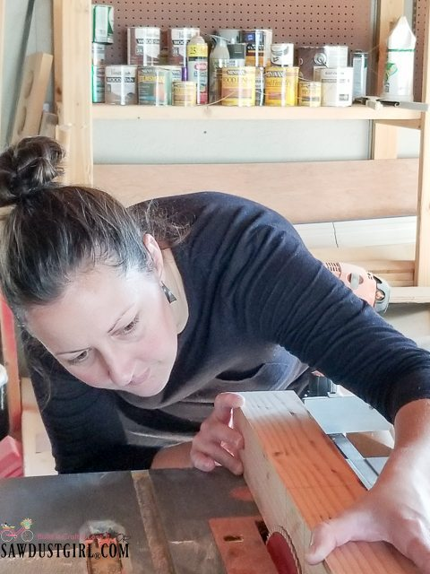 Bathroom Baseboard Ideas How To Cut A Half Lap Joint On A Table Saw - Sawdust Girl®
