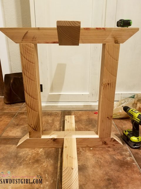 How To Build A Kitchen Pantry Cabinet How To Cut A Half Lap Joint On A Table Saw - Sawdust Girl®