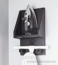 DIY Ironing Board Holder & Organizer {Free Plans ...