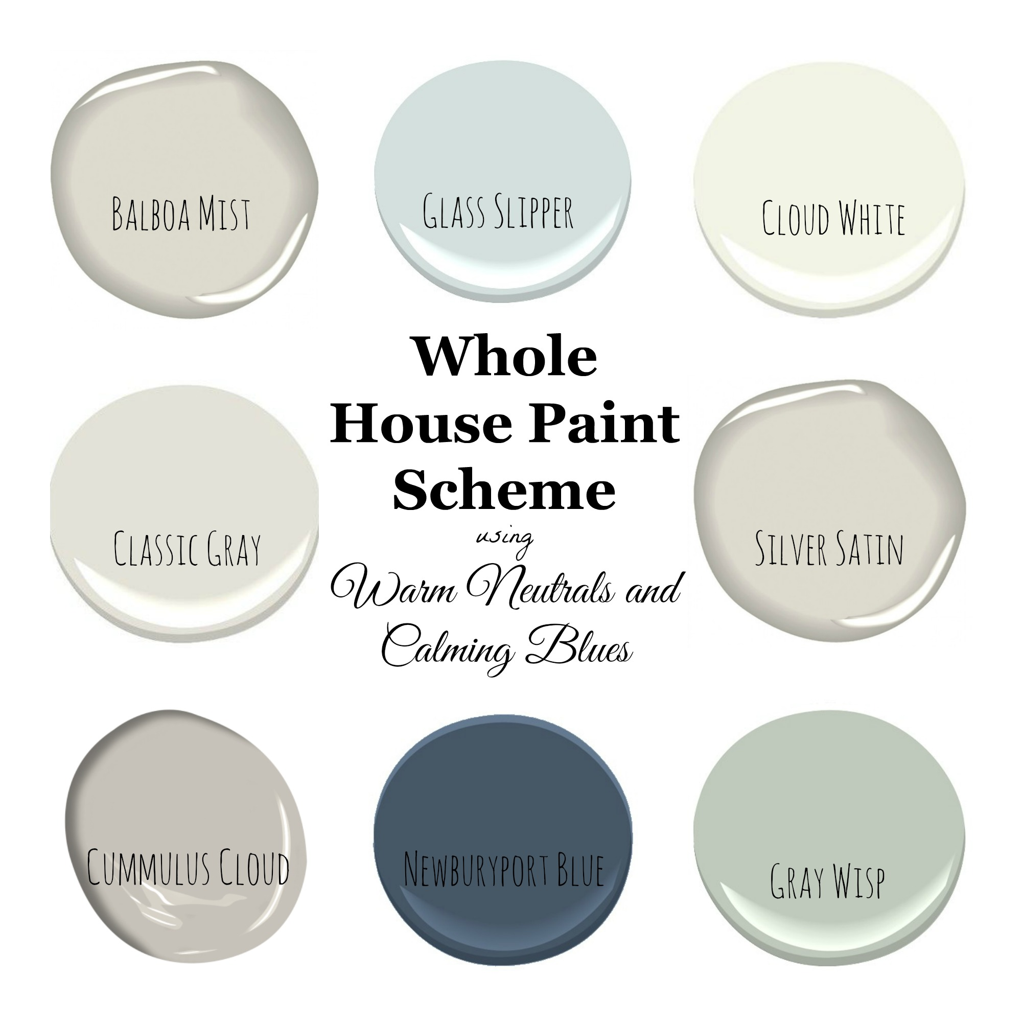 Benjamin Moore Bedroom Colors My Home Paint Colors Warm Neutrals And Calming Blues Saw Nail