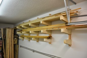 Build Garage Wall Shelves 9 Diy Ideas For Wood Storage