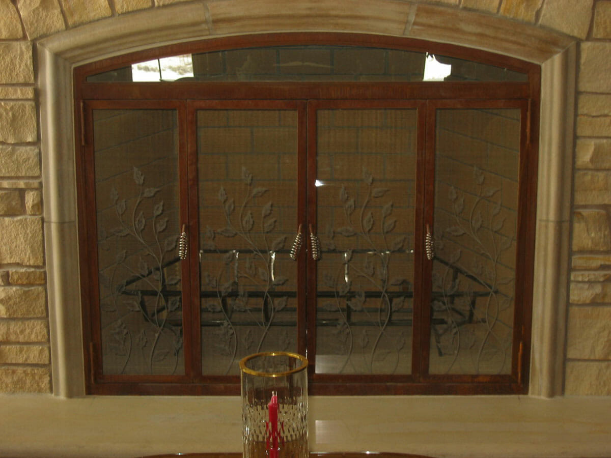 Custom Glass Fireplace Doors Custom Glass Fireplaces Salt Lake City Utah Sawyer Glass