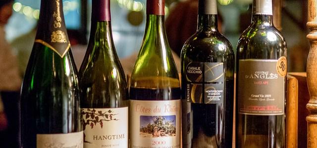 秋はやっぱり赤ワイン Wine Shop Saint Vincent ワイン会@ル・リオン
