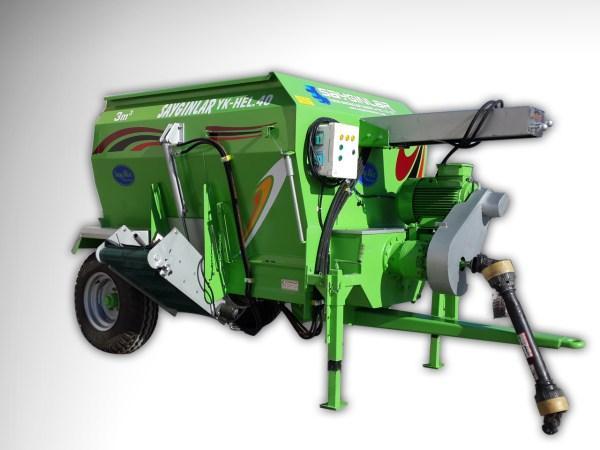 Feed Mixer Tmr Wagon 3m3