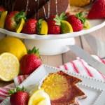 Strawberry Lemonade Bundt Cake-7