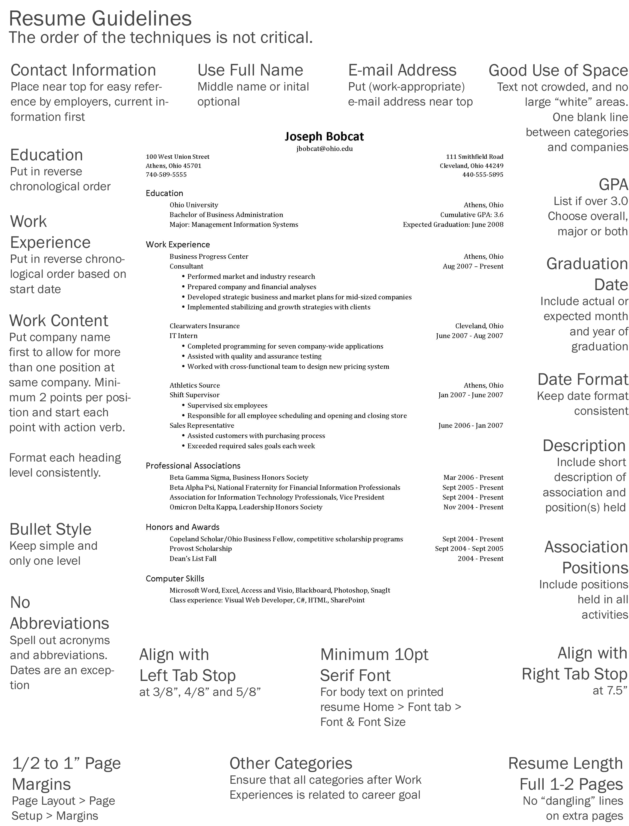 list of skills for student resume