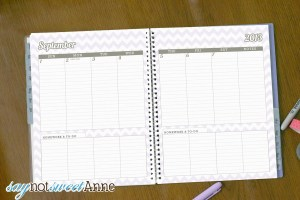 Weekly and Monthly View Student Planner Printable