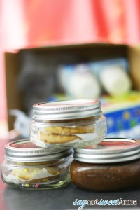 Canned Baked Goods - Vacuum sealed cookies, brownies and cakes in a jar, good for months! | saynotsweetanne.com | #diy #cookies #canning