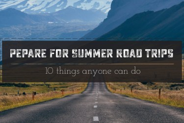 Great Checlist to Prepare Your Car For Summer Road Trips! Easy to follow printable check list that anyone can do! | Saynotsweetanne.com