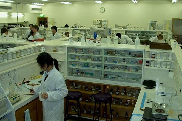 dispensing lab