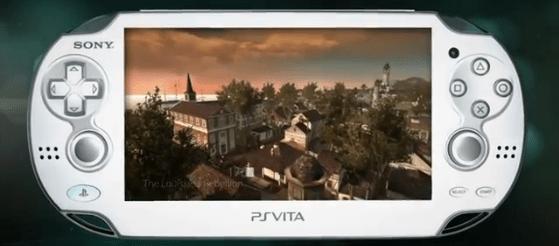 PS Vita with Assassin's Creed screenshot