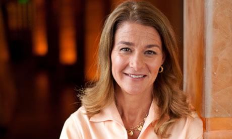 Melinda Gates (Credit: Stuart Isett/Polaris)