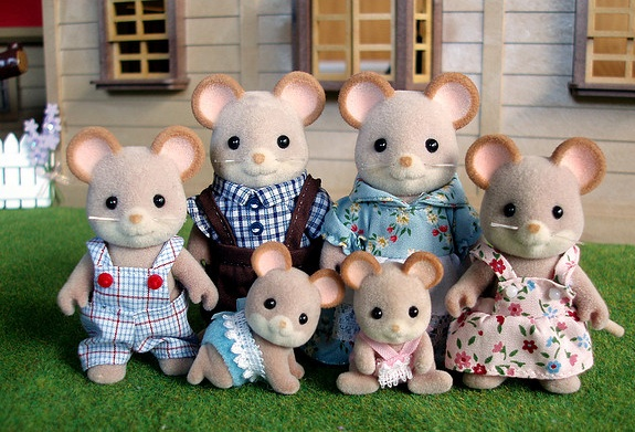 Mouse Family (Credit: magw21/Flickr)
