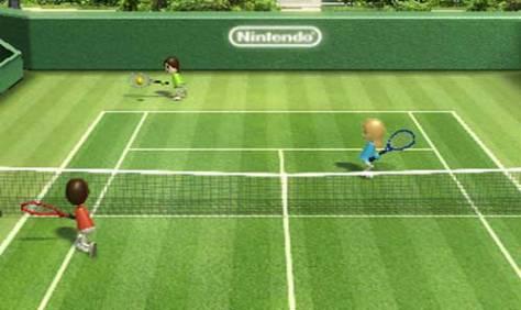 Tennis on Wii