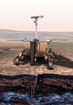 ExoMars rover (Credit: ESA)
