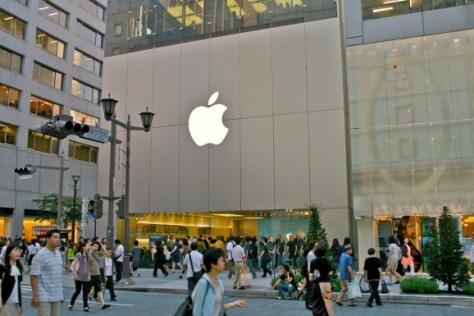 Apple store in Tokyo (Credit: Flickr)
