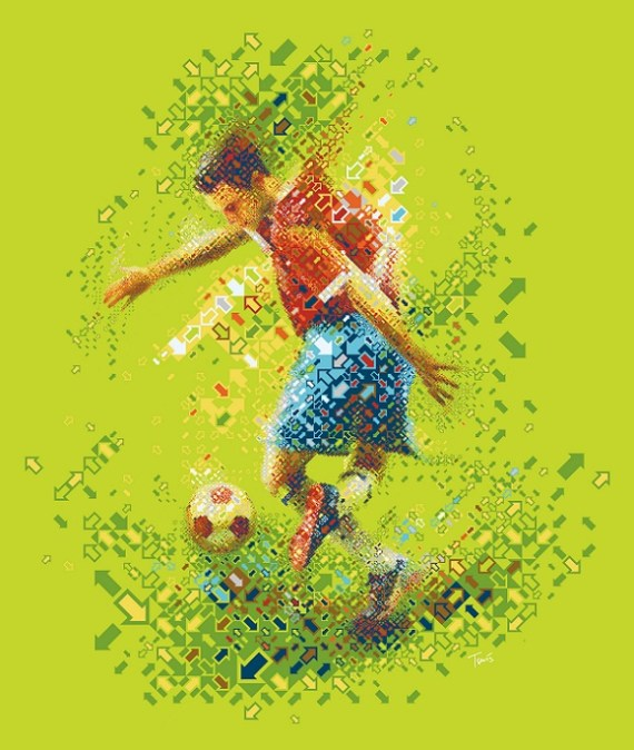Soccer (Credit:  Charis Tsevis/Flickr)