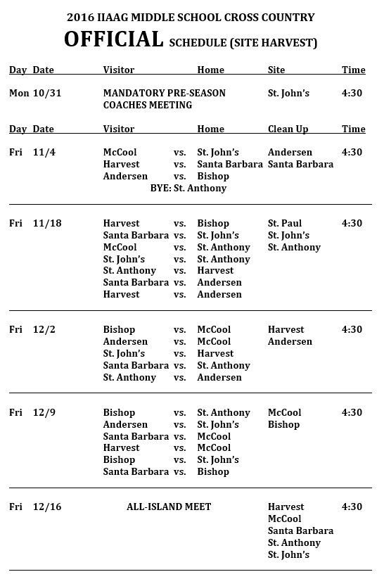 cross-country-schedule