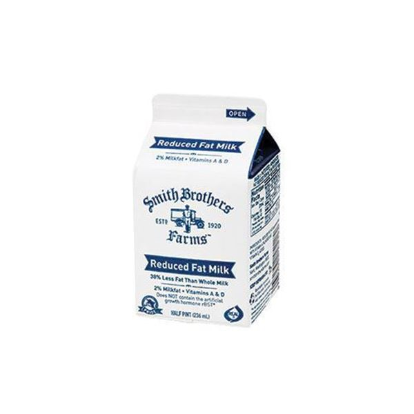 Pantry Size Shop For Reduced Fat 2% Milk Half Pint From Smith Brothers