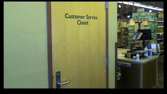 Customer Service Closet | Flickr - pswansen