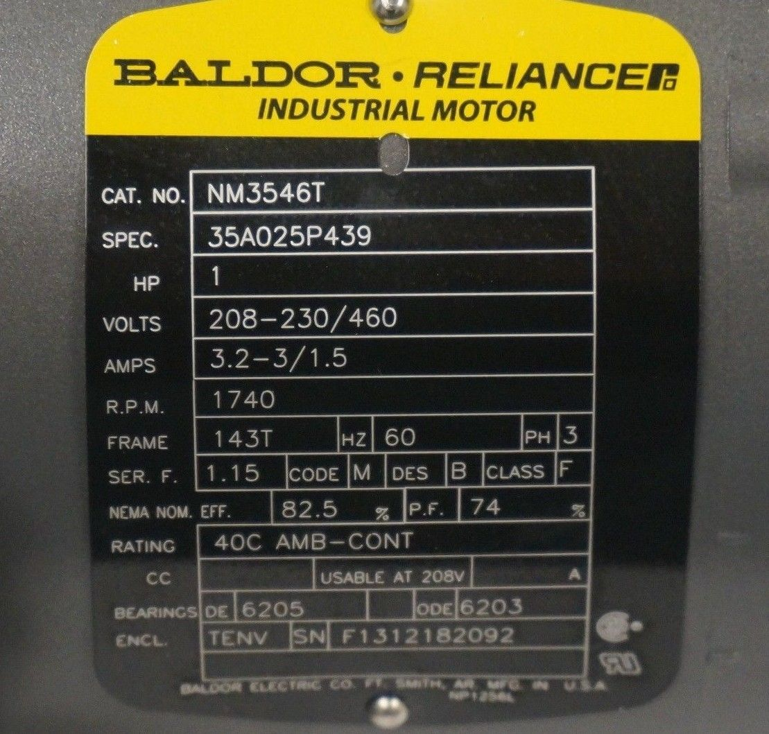 Baldor Motor Specs - Inspirational Interior style concepts for ... on